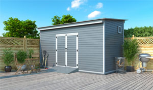 8x16 lean-to storage shed plans