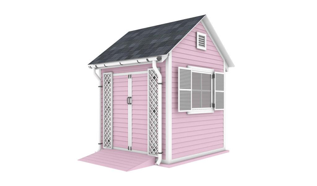 8x8 garden shed