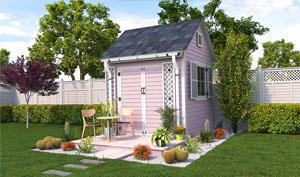 8x8 gable garden shed plans