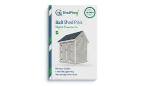 8x8 storage shed plan