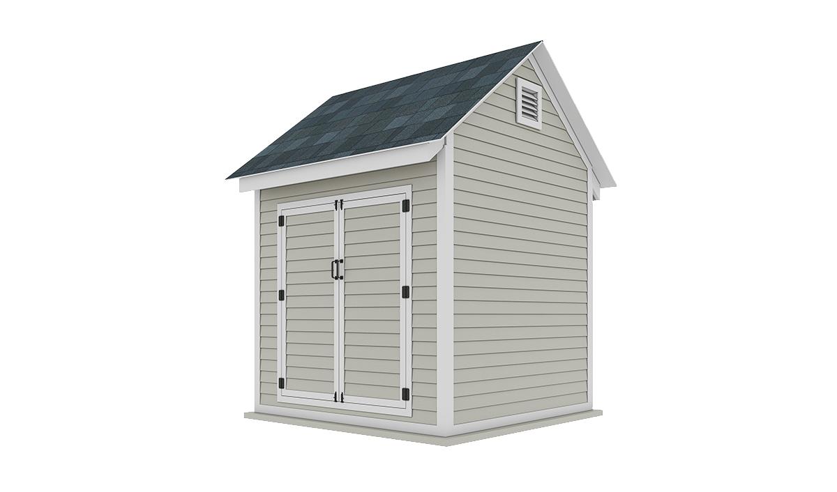 8x8 storage shed