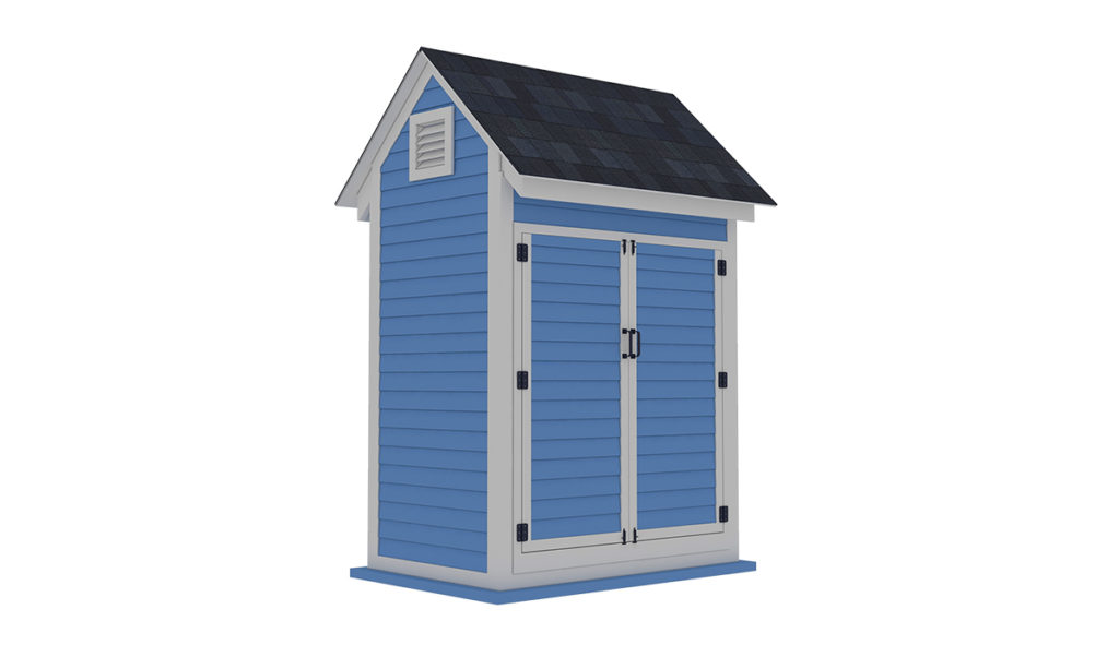 4x6 bike shed