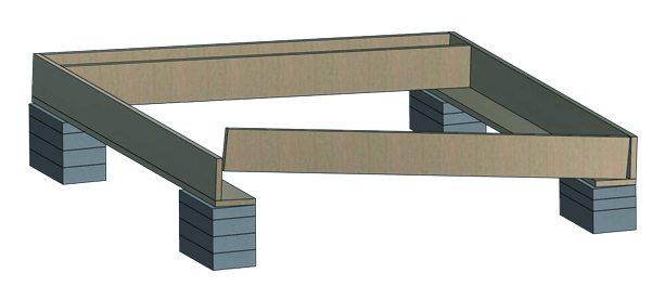 shed joists fastening