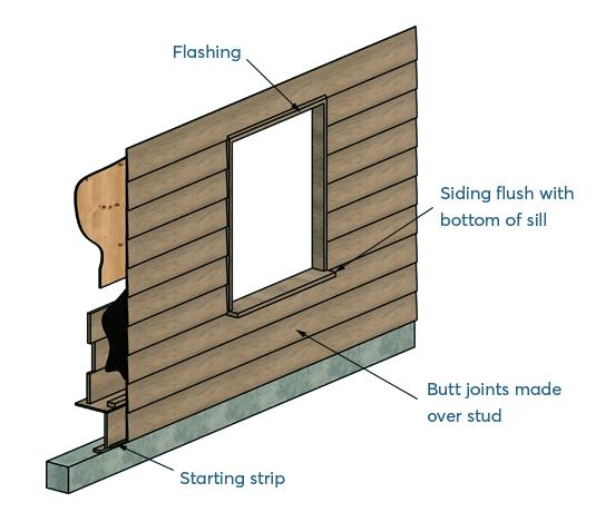 shed bevel siding