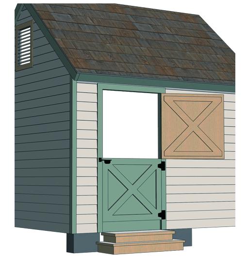 dutch door shed