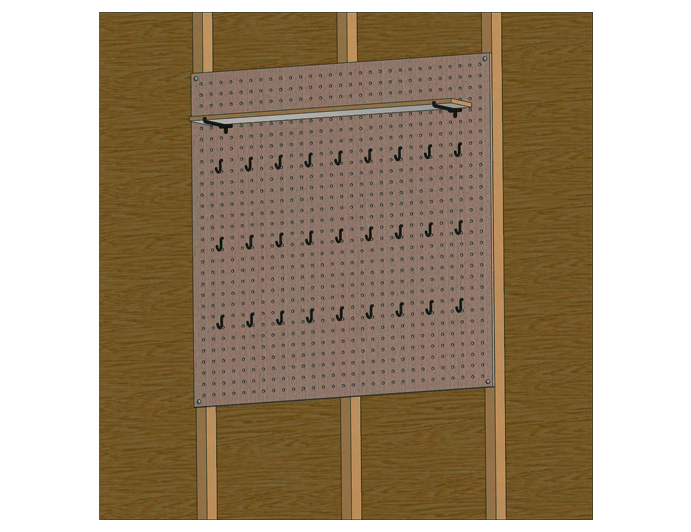shed pegboard