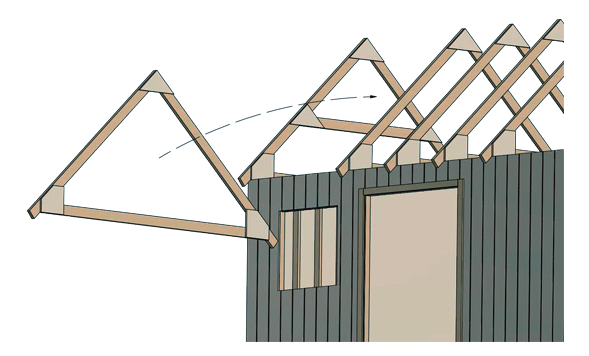 Shed Roof Framing Styles Terminology And Tips Shedplans Org