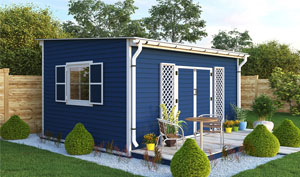 12x16 lean-to garden shed plans