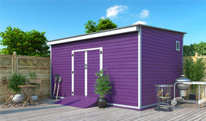 12x16 lean-to storage shed plans
