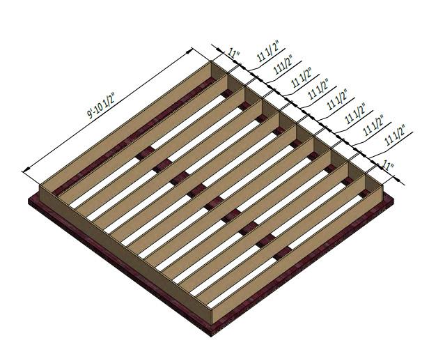 shed floor framing