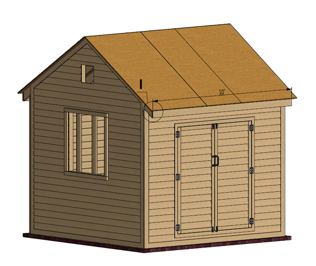 shed roof sheating