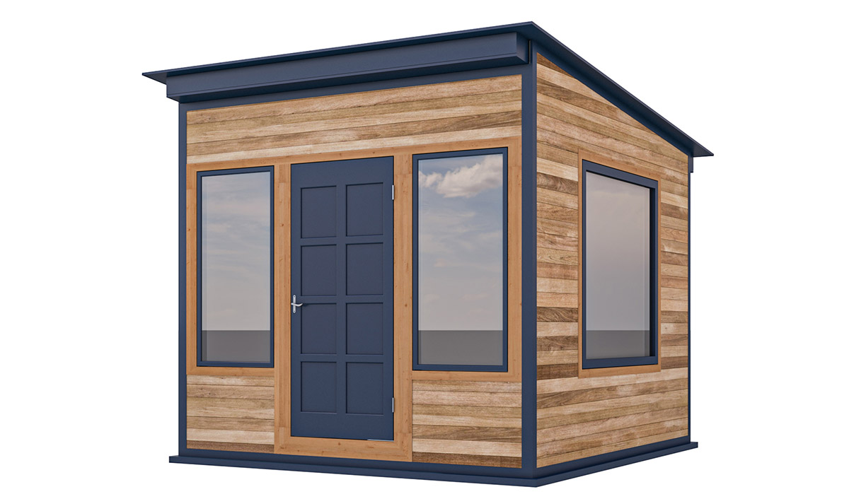 10x10 office shed