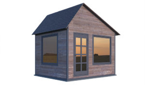 10x12 office shed