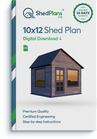 10x12 office shed plan