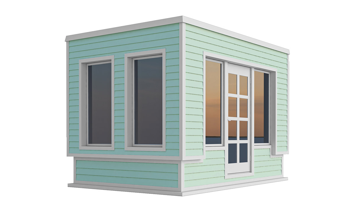 8x12 office shed