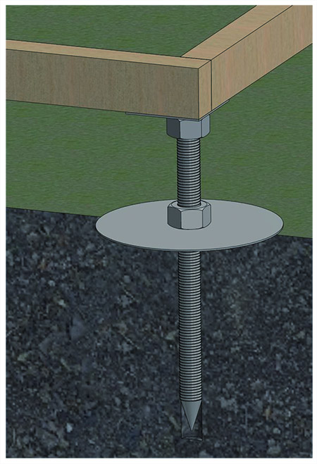 Adjustable Metal Base