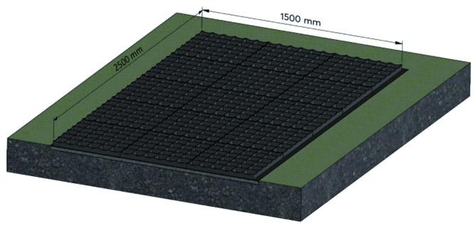 Plastic Grid Foundation