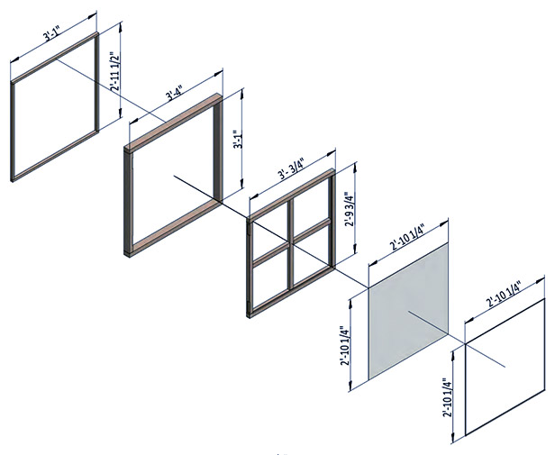 assemble shed window