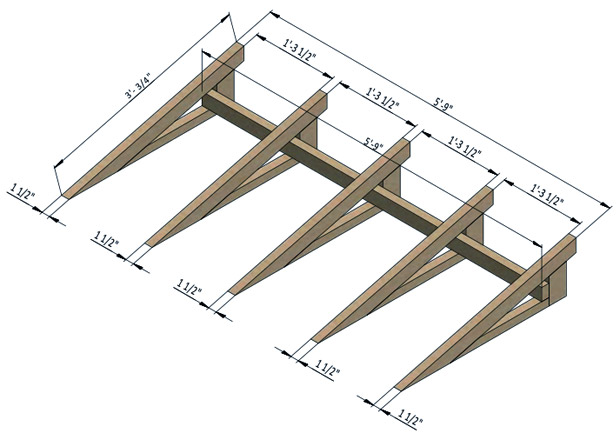 shed ramp assembly